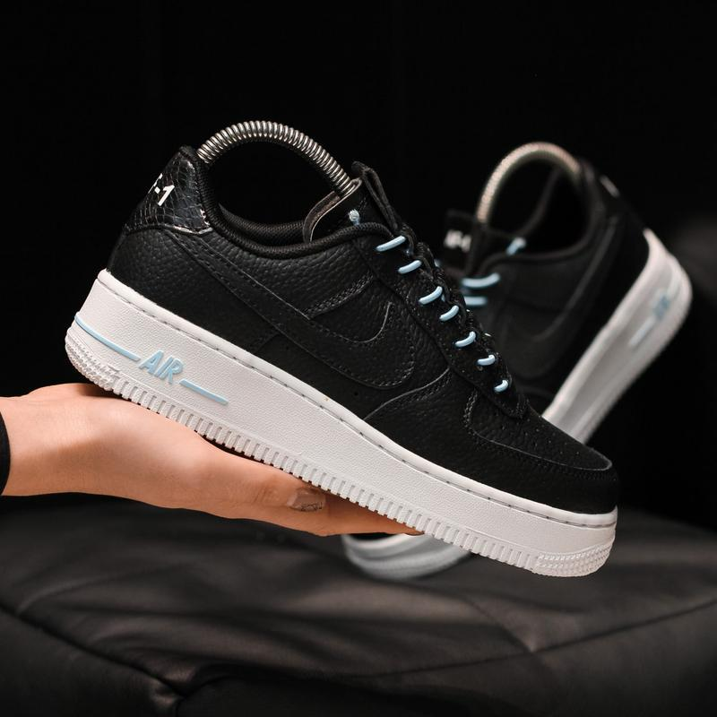 Nike air force 1 low black white
