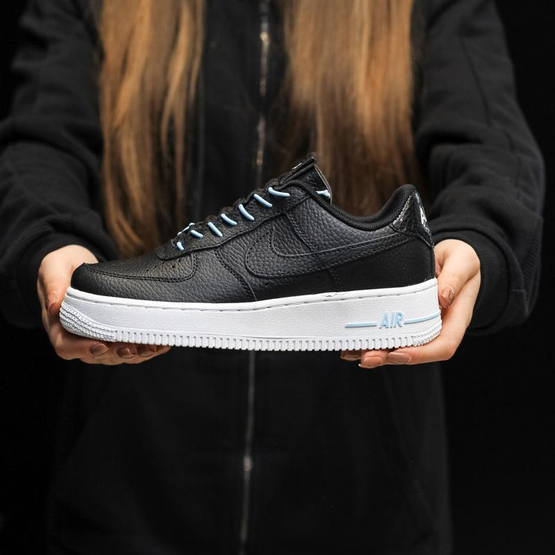 Nike air force 1 low black white - Фото 6