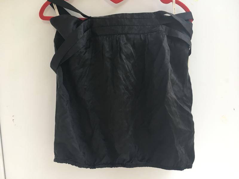 Блузка топ майка , шелковая, натуральный шёлк - Фото 2