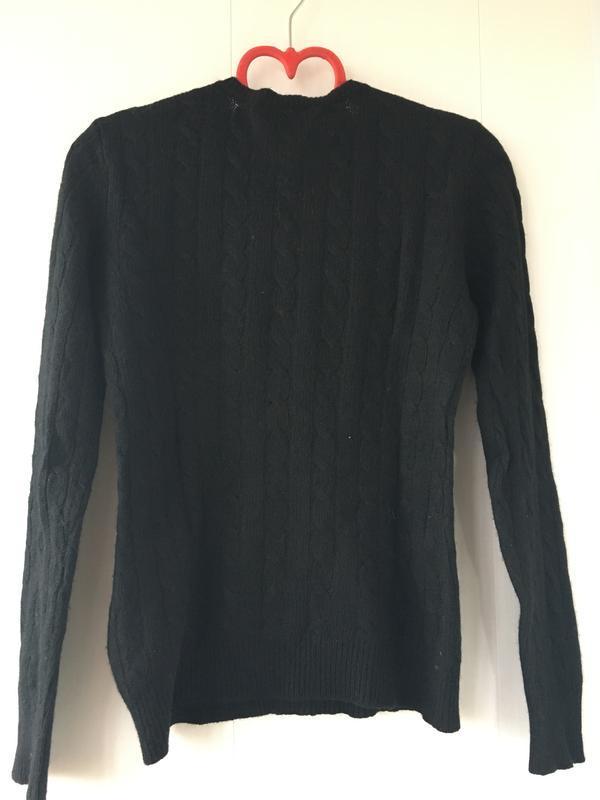 Стильный брендовый свитер джемпер косами оригинал ralph lauren - Фото 2