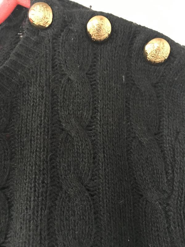 Стильный брендовый свитер джемпер косами оригинал ralph lauren - Фото 4