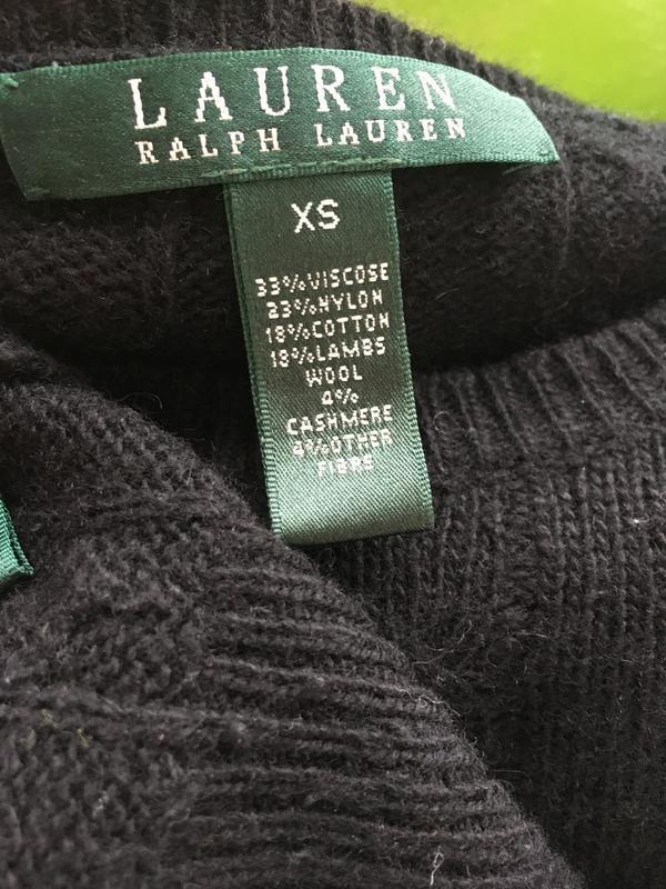 Стильный брендовый свитер джемпер косами оригинал ralph lauren - Фото 5