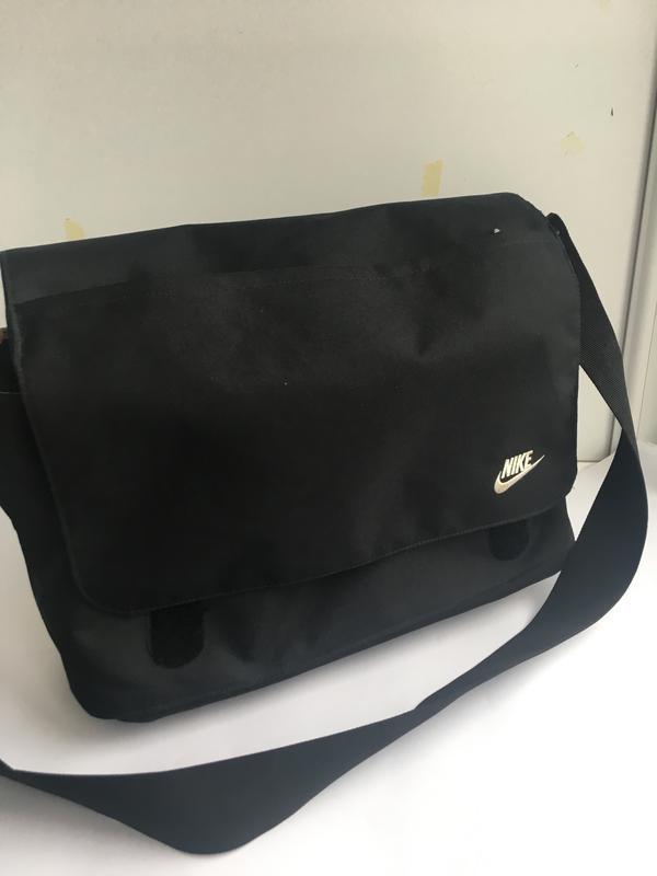 Большая спортивная сумка планшет для ноут бука nike - Фото 2