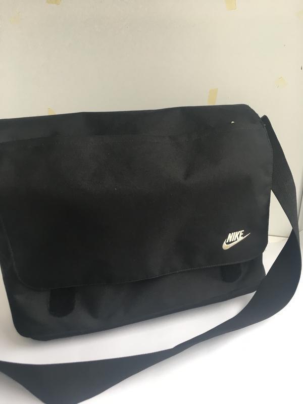 Большая спортивная сумка планшет для ноут бука nike - Фото 3