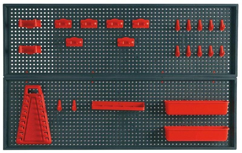 Панель перфорированная для инструмента(500х780х90)+аксессуары - Фото 2