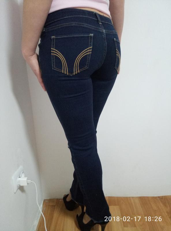 Крутые джинсы с дырками раз.м-l