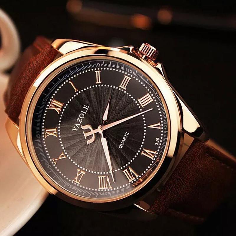 Мужские наручные модные недорогие классические часы часики год...