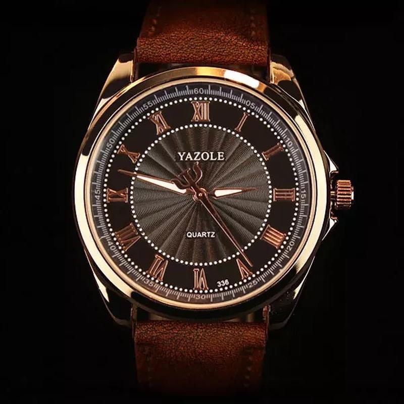 Мужские наручные модные недорогие классические часы часики год... - Фото 3