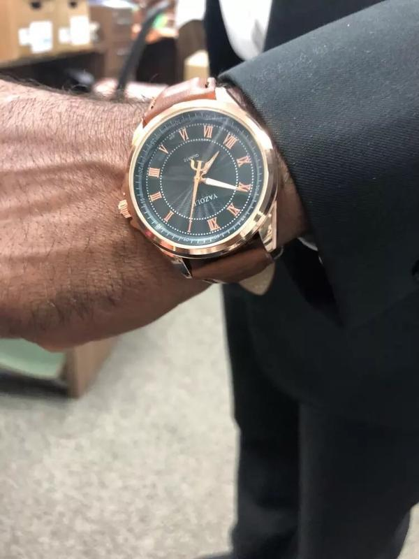 Мужские наручные модные недорогие классические часы часики год... - Фото 4
