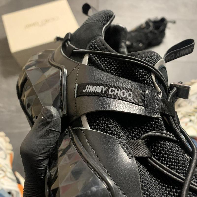 Jimmy choo diamond black. - Фото 5