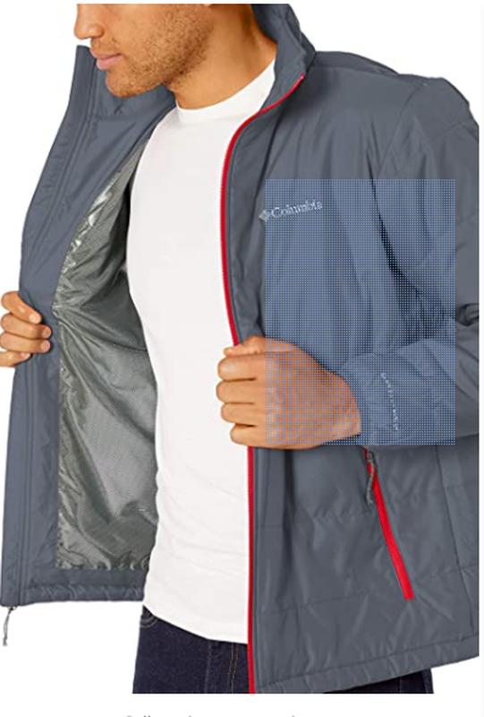 Куртка мужская columbia omni-heat jacket. коламбия оригинал