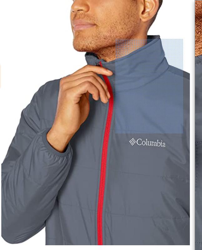 Куртка мужская columbia omni-heat jacket. коламбия оригинал - Фото 3