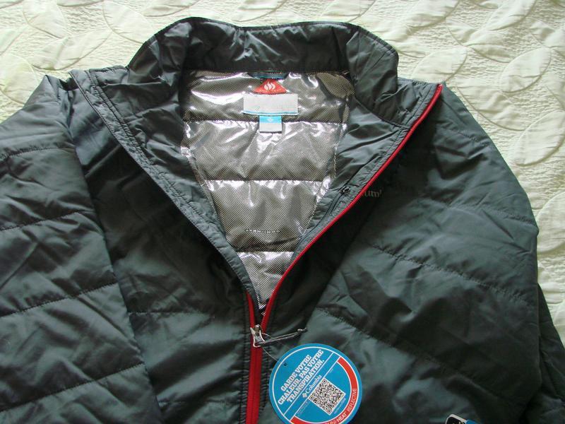 Куртка мужская columbia omni-heat jacket. коламбия оригинал - Фото 6