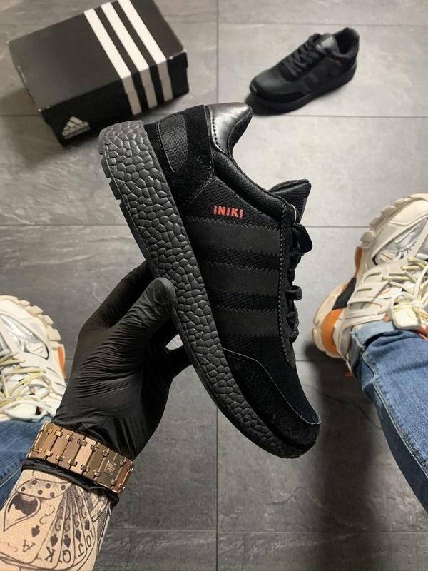 Adidas iniki full black