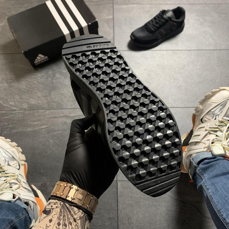 Adidas iniki full black - Фото 6