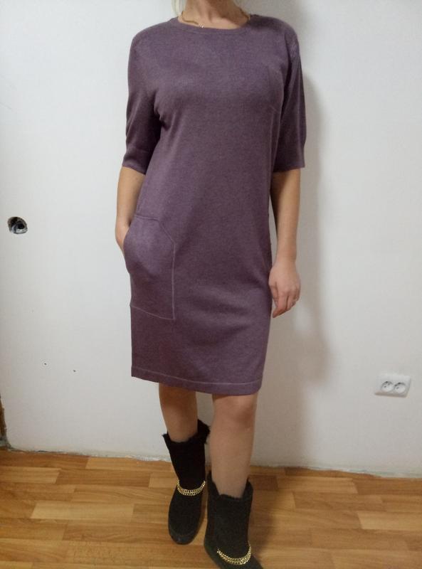 Красивое котоновое платье раз. м