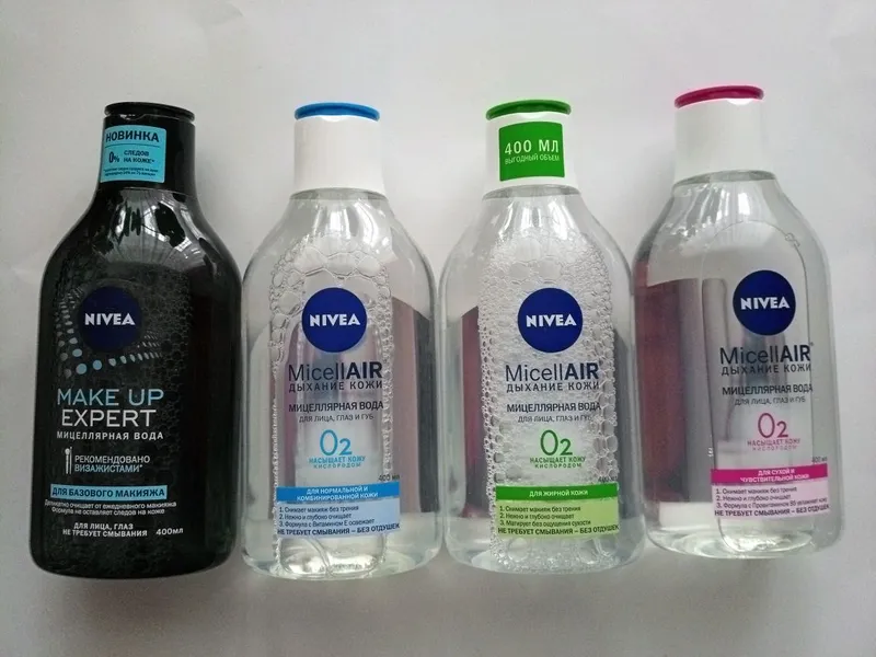 Мицеллярная вода  Nivea
