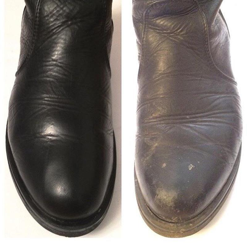 Покраска обуви, Чистка изделий из кожи и замши. Куртки, Сумки, Об - Фото 4