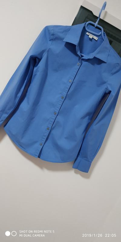 Крутая приталенная брендовые рубашка раз. xs