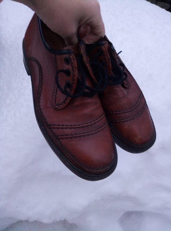 Туфли кожаные мужские раз. 42