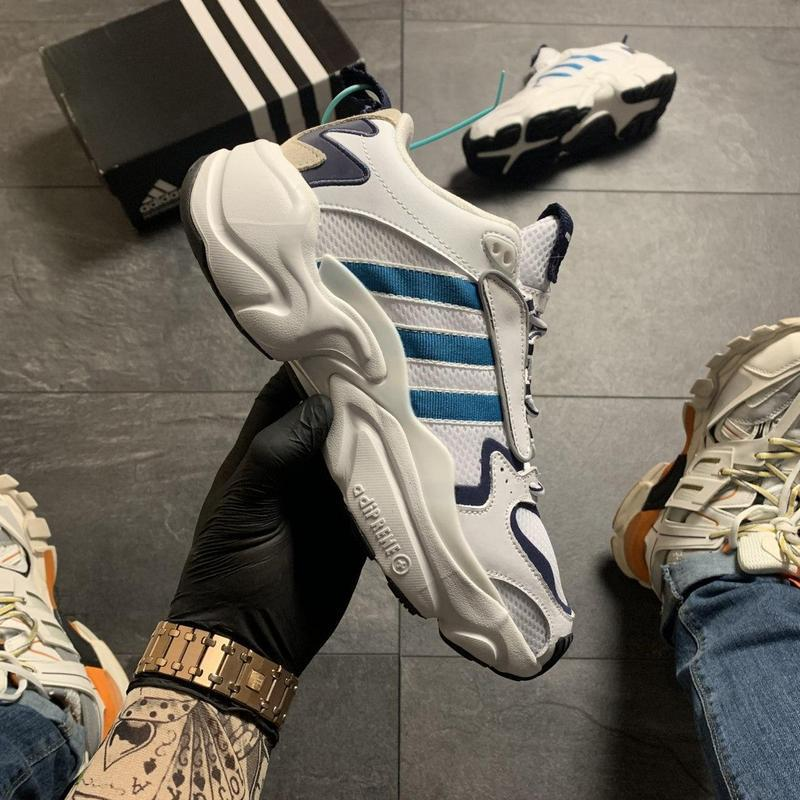 Adidas magmur runner white blue