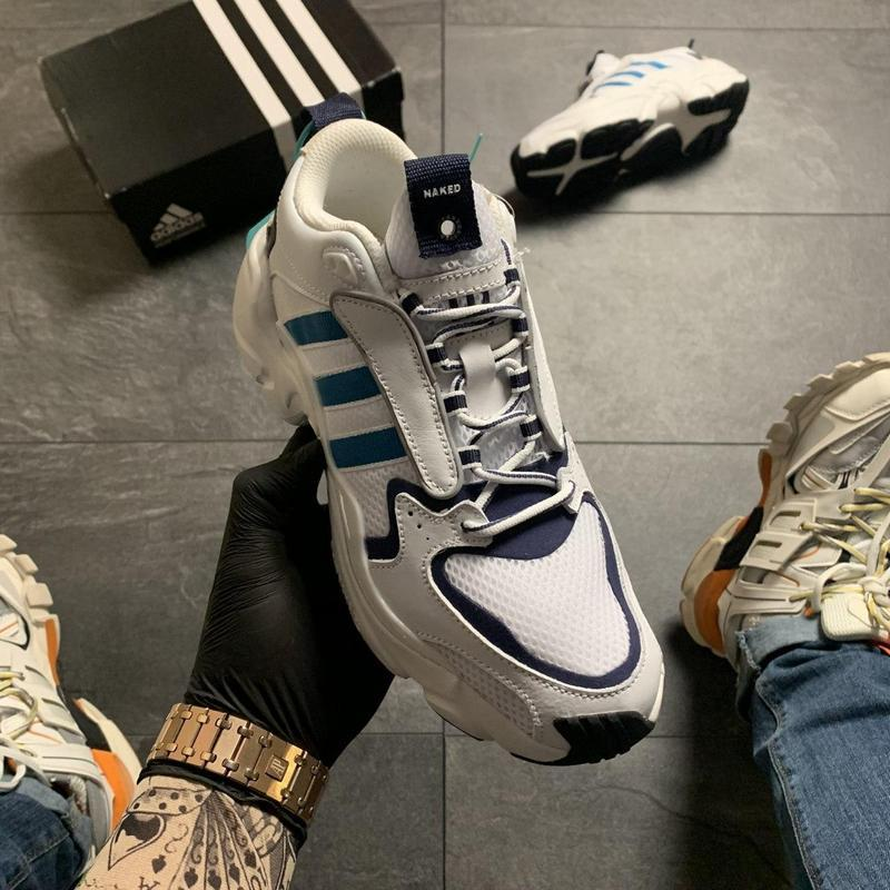 Adidas magmur runner white blue - Фото 2