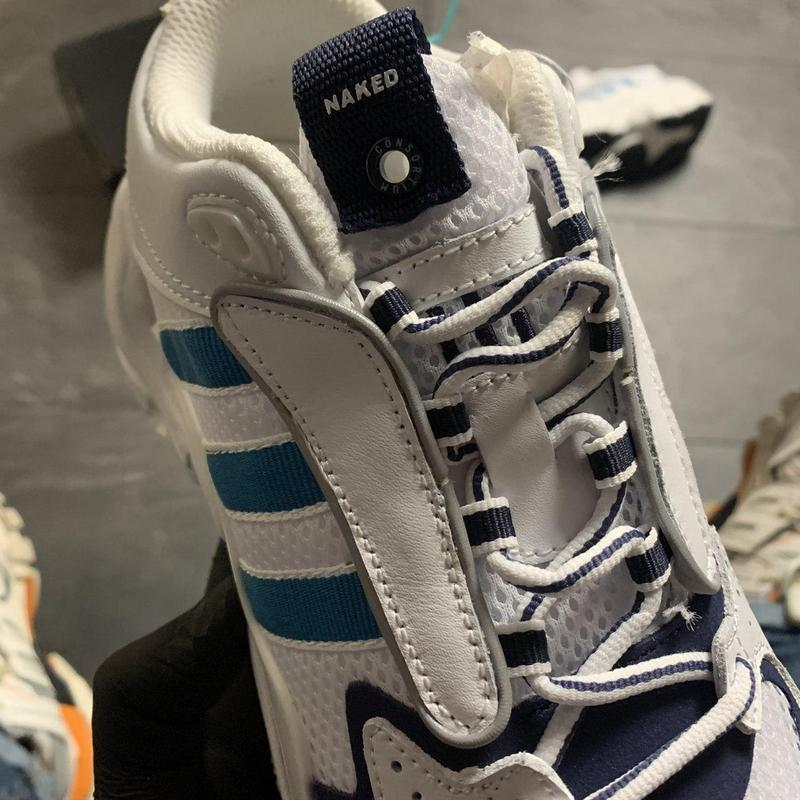 Adidas magmur runner white blue - Фото 6