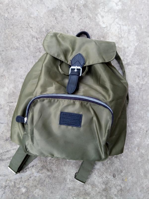 Новый рюкзак от h&m цвета хаки