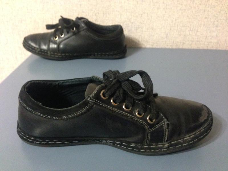 Туфли для мальчика,нат.кожа,стелька 20см - Фото 2