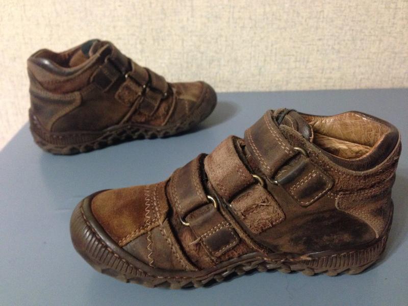 Ботинки lumberjack деми,нат.кожа,р.28-29,португалия - Фото 2