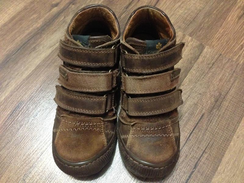 Ботинки lumberjack деми,нат.кожа,р.28-29,португалия - Фото 3