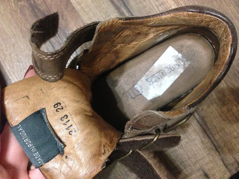 Ботинки lumberjack деми,нат.кожа,р.28-29,португалия - Фото 5