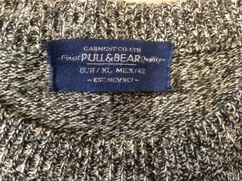 Свитер муж. pull & bear,р.xl - Фото 4