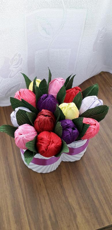 Букеты с конфетами сладкий букет - Фото 10