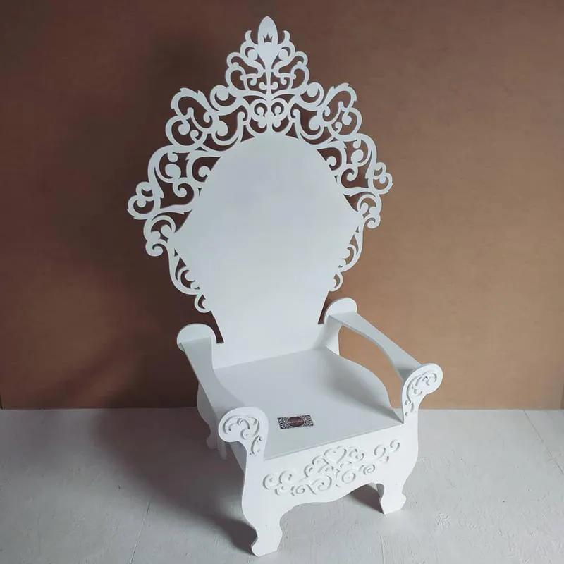 Декор для дитячої фотозони детской крісло трон стульчик одиничка - Фото 2