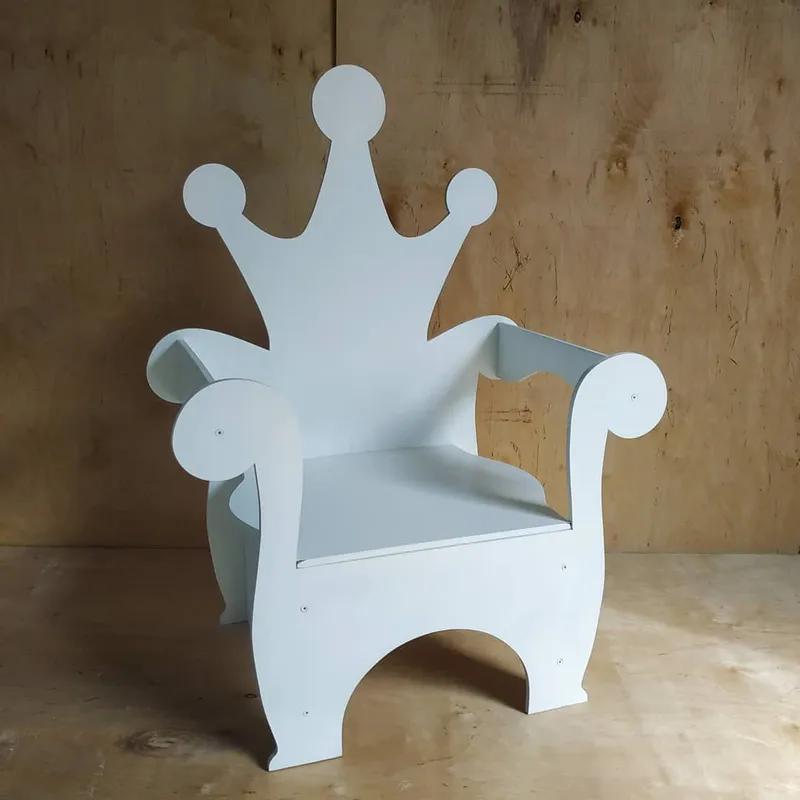 Декор для дитячої фотозони детской крісло трон стульчик одиничка - Фото 4