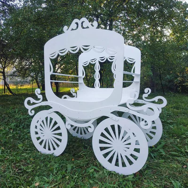 Декор для дитячої фотозони детской крісло трон стульчик одиничка - Фото 10