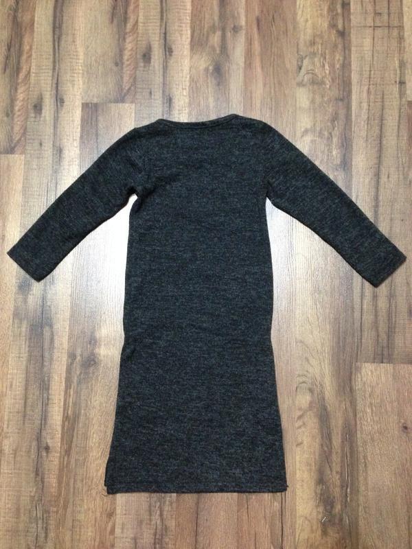 Модное платье для девочки 3-5лет в спортивном стиле - Фото 3