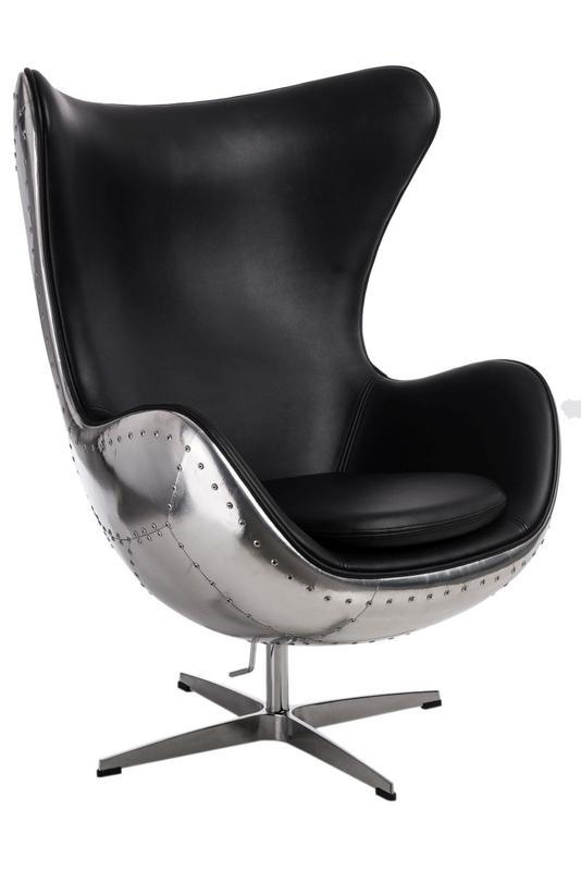 Кресло Egg Aviator вращается, а высота сидения легко регулируется - Фото 3
