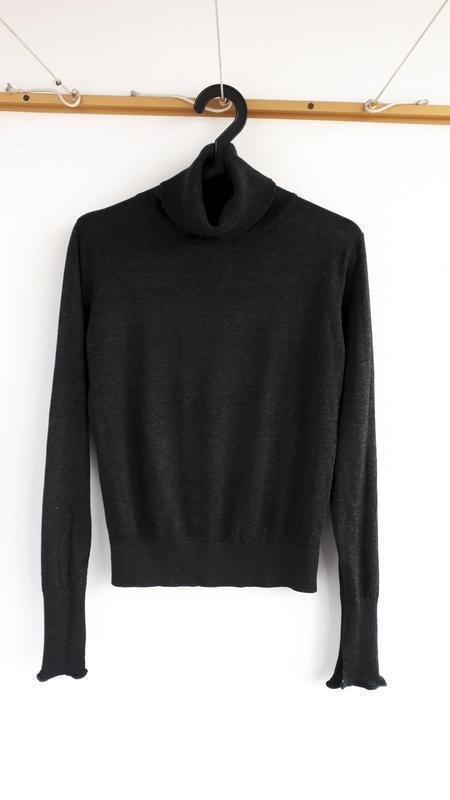 #розвантажуюсь темно-серый гольф zara водолазка свитер с горлом - Фото 2