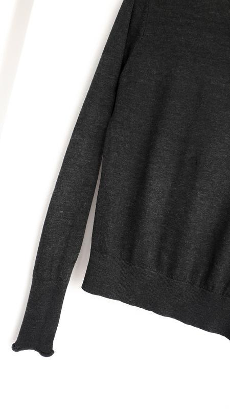 #розвантажуюсь темно-серый гольф zara водолазка свитер с горлом - Фото 4