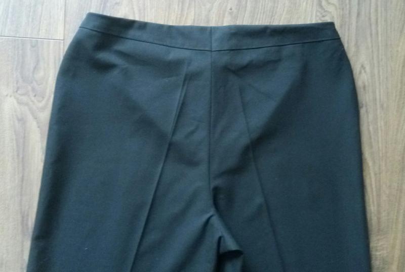 Актуальні фірмові чорні класичні брюки завишена талія укорочен... - Фото 5