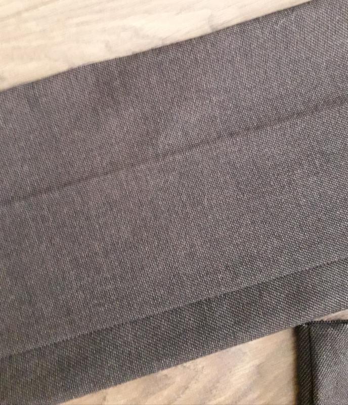 Темно-коричневі (рябенькі) завужені класичні брючки (next) - Фото 5