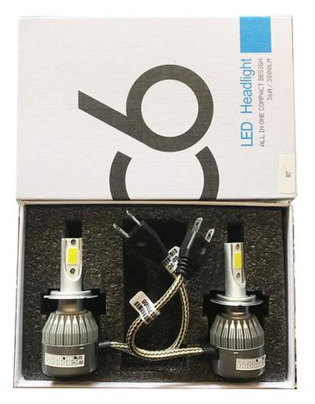Автомобильные лампы светодиодные LED лампы лед ксенон автоламп... - Фото 4