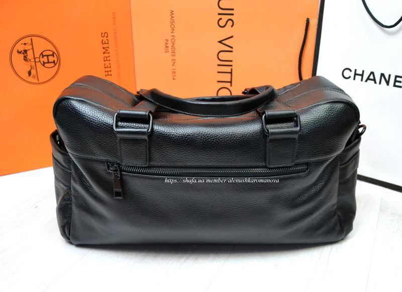 Брендовая дорожная сумка в ст версаче versache кожа - Фото 3