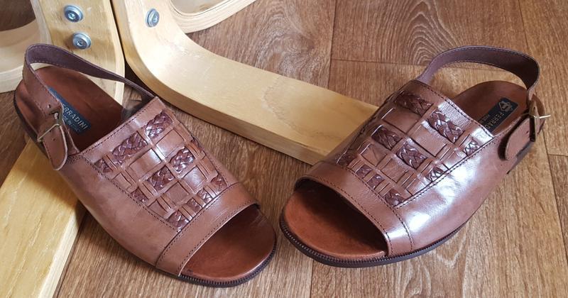 Кожаные сандалии ferradini original italiy - Фото 2