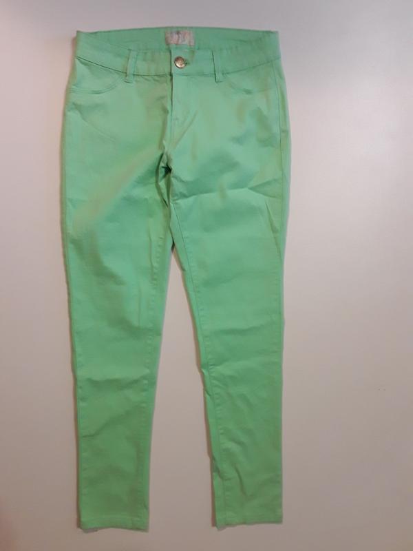 Фирменные джинсы скинни 14-16 лет