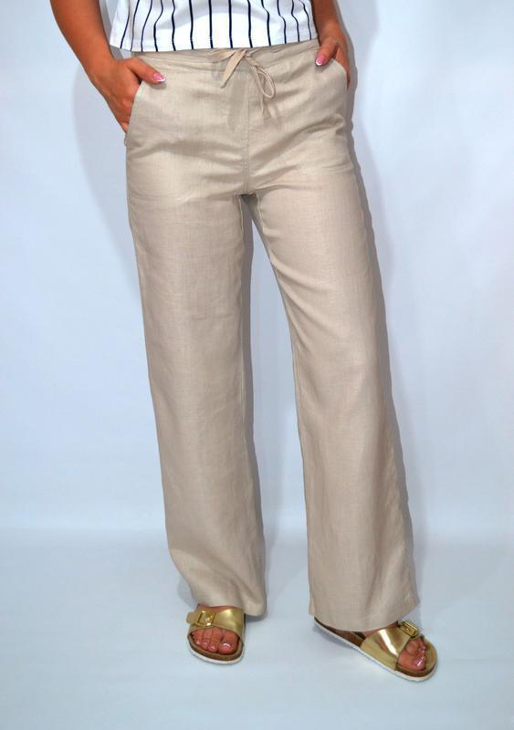 Натуральные брюки котон 14р на 48.50р      ж - Фото 6