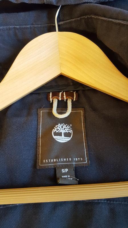 Куртка коттоновая timberland original - Фото 5
