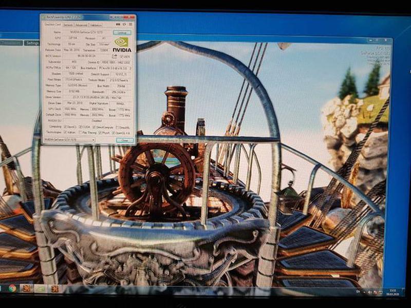 Видеокарта MSI PCI-Ex GeForce GTX 1070 Gaming X 8GB GDDR5X (25... - Фото 5